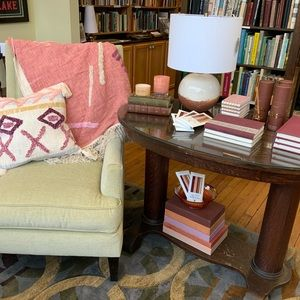 Abstract Throw & Pillow Set